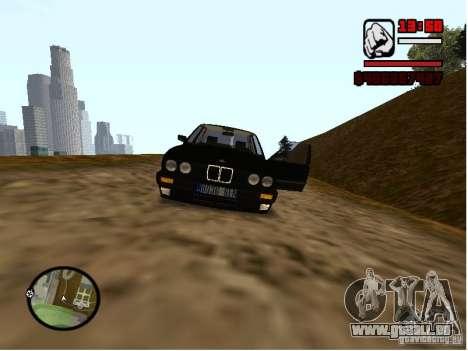 BMW 325i E30 für GTA San Andreas rechten Ansicht