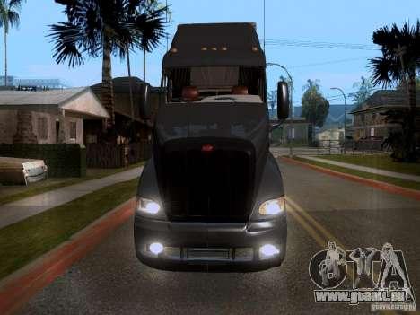Peterbilt 389 pour GTA San Andreas laissé vue