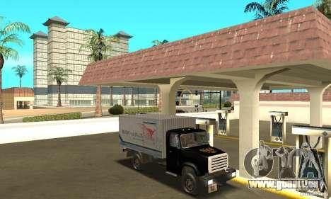 ZIL 433112 mit tuning für GTA San Andreas Seitenansicht