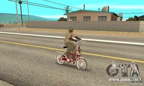Child Bicycle pour GTA San Andreas vue de droite