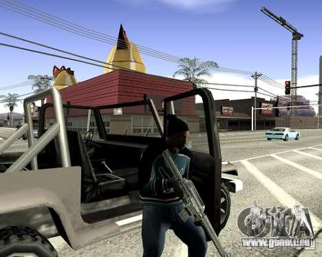 Capot du système pour GTA San Andreas dixième écran