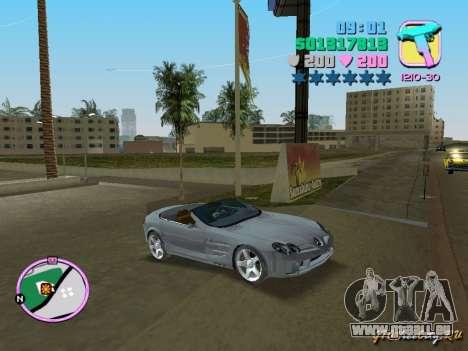 Mercedes-Benz VISION SLR Cabrio pour GTA Vice City