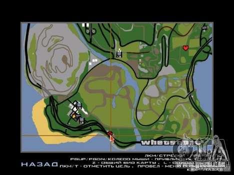 Nouvelle ville v1 pour GTA San Andreas neuvième écran