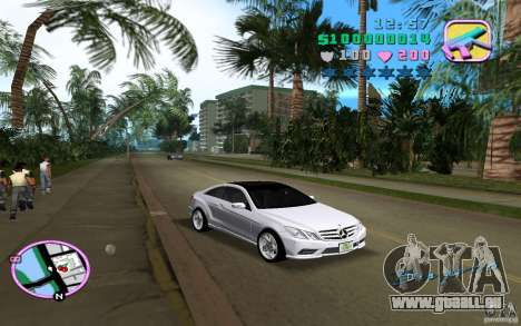 Mercedes-Benz E Class Coupe C207 für GTA Vice City