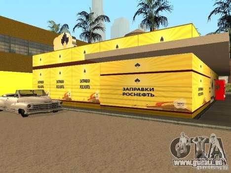 Nouvelles stations d'essence de textures pour GTA San Andreas deuxième écran