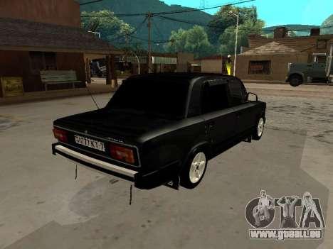 21065 VAZ v2.0 pour GTA San Andreas vue de droite