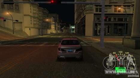 Compteur de vitesse VAZ 2110 pour GTA San Andreas