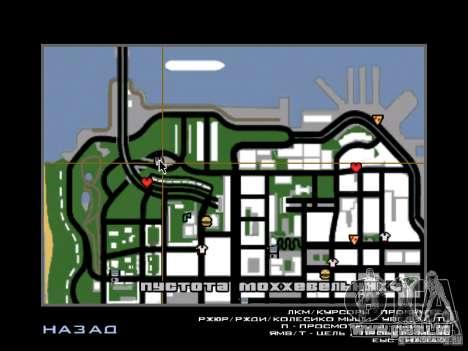 Restaurant à San Fierro pour GTA San Andreas deuxième écran