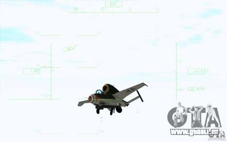 Henkel 162A Salamander pour GTA San Andreas vue de droite