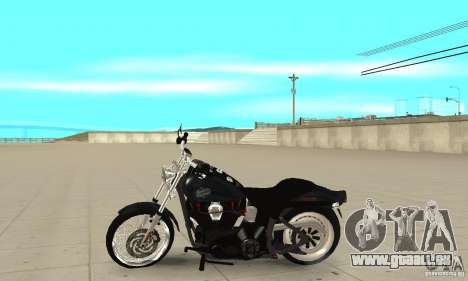 Harley Davidson FXSTBi Night Train pour GTA San Andreas laissé vue
