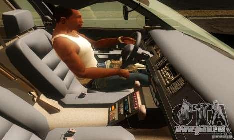 Ford Crown Victoria Montana Police pour GTA San Andreas sur la vue arrière gauche