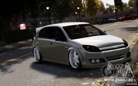 Opel Astra für GTA 4 rechte Ansicht