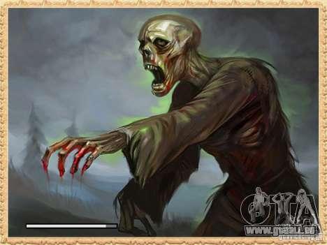 Écran de démarrage de Zombies pour GTA San Andreas deuxième écran