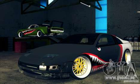 Nissan 300ZX Bad Shark pour GTA San Andreas