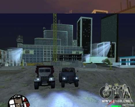 KrAZ-256 Kipper für GTA San Andreas rechten Ansicht