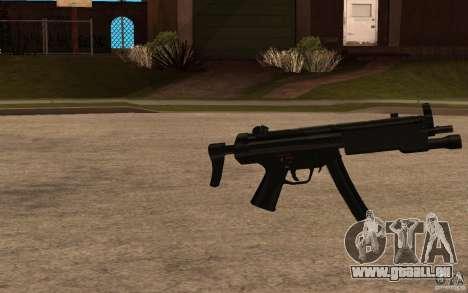 Nouveau MP5 avec lampe de poche pour GTA San Andreas deuxième écran