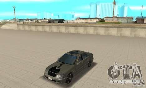 Mercedes Benz AMG S65 DUB pour GTA San Andreas