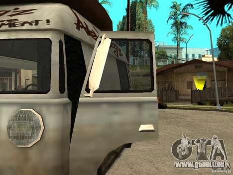 Nettoyez la vitre dans le Hotdog-e pour GTA San Andreas laissé vue