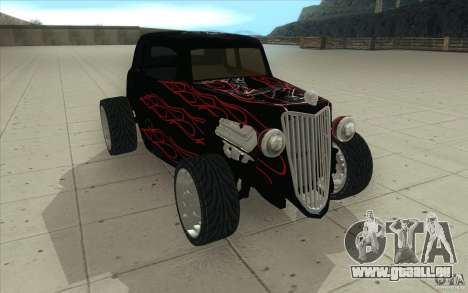 Ford Hot Rod 1934 v2 für GTA San Andreas Rückansicht
