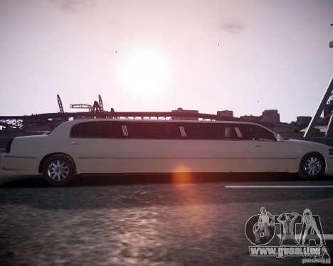 Lincoln Town Car Limousine für GTA 4 rechte Ansicht