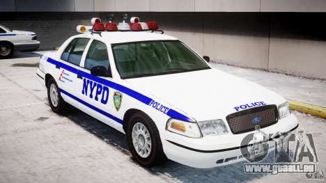 Ford Crown Victoria NYPD pour le moteur de GTA 4