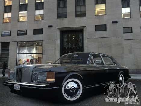 Rolls-Royce Silver Spirit 1990 pour GTA 4 est un côté