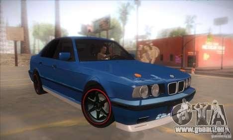 BMW M5 für GTA San Andreas Rückansicht