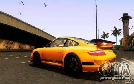 Porsche 911 GT3 RS pour GTA San Andreas vue de côté