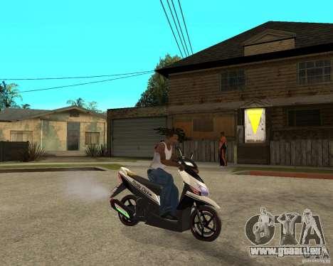 Honda Click für GTA San Andreas rechten Ansicht