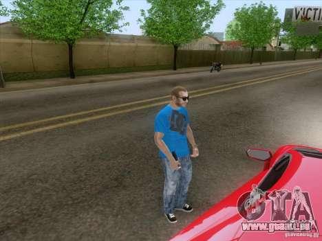Alarme Mod v3.0 pour GTA San Andreas troisième écran