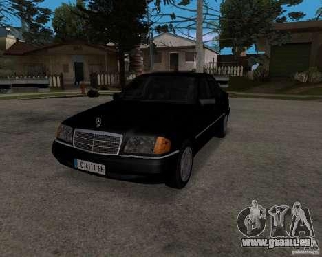 Mercedes-Benz C220 W202 1996 pour GTA San Andreas