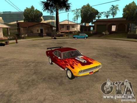 Dodge Challenger Tuning pour GTA San Andreas vue de droite
