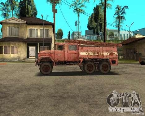 ZIL 131 für GTA San Andreas linke Ansicht