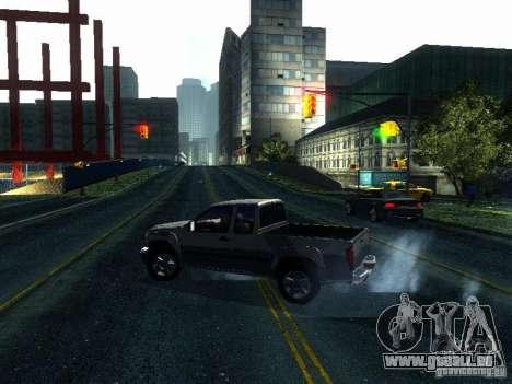 Chevrolet Colorado 2003 pour GTA San Andreas vue de droite