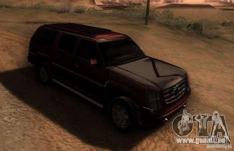 Cadillac Escalade ESV 2006 für GTA San Andreas