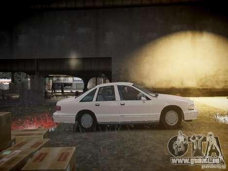 Chevrolet Caprice 1993 Rims 1 für GTA 4 Innenansicht