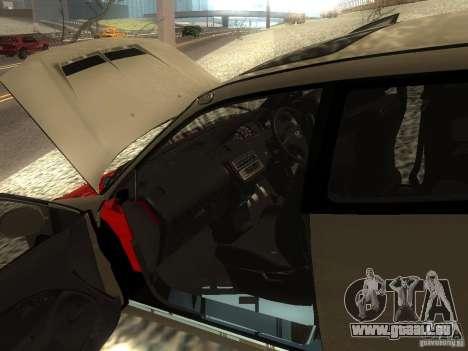 Honda Civic EG6 JDM pour GTA San Andreas vue intérieure