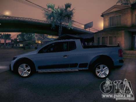 Volkswagen Saveiro Cross für GTA San Andreas linke Ansicht