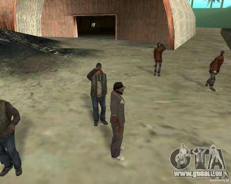 Barney Obdachlose für GTA San Andreas her Screenshot