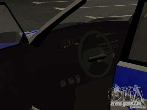 ВАЗ 2114 Police pour GTA San Andreas vue de côté