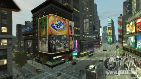 Real Time Square mod für GTA 4 fünften Screenshot