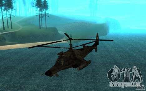 Kamov KA 50 Dlack Shark für GTA San Andreas