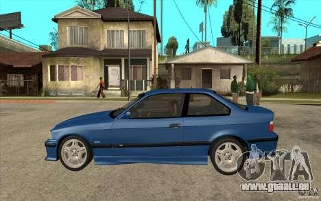 BMW M3 E36 1997 für GTA San Andreas linke Ansicht