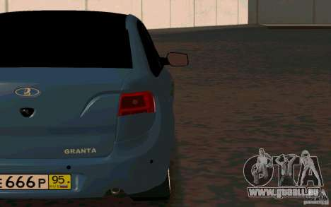 Lada Granta TUNING pour GTA San Andreas vue de droite
