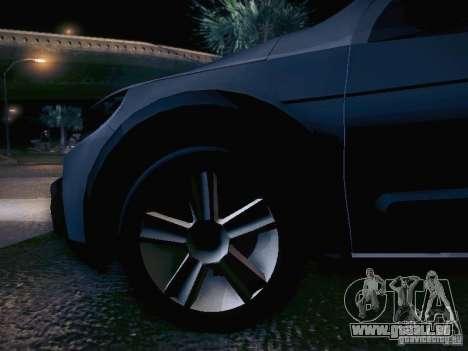 Volkswagen Saveiro Cross für GTA San Andreas Unteransicht