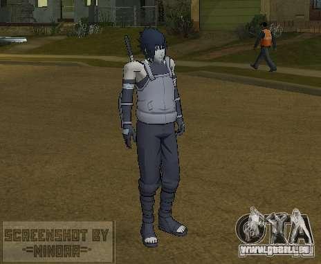 Peau Sasuke Anbu pour GTA San Andreas deuxième écran