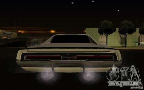 Dodge Charger R/T pour GTA San Andreas vue arrière
