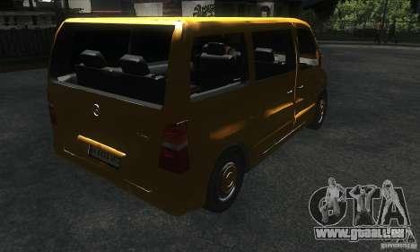 Mercedes Vito für GTA San Andreas rechten Ansicht
