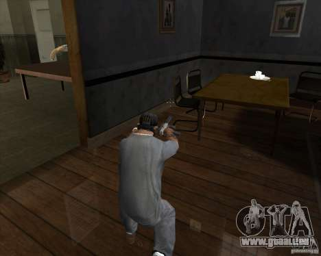 Ingram MAC-10 de Counter-strike pour GTA San Andreas troisième écran