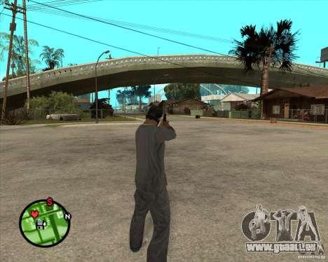 Crosman 31 pour GTA San Andreas troisième écran